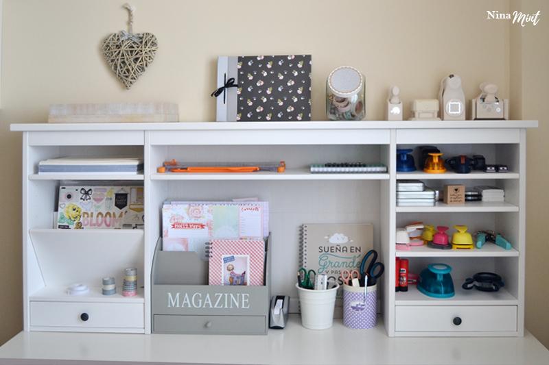 Tableros De Escritorio Ikea.Ideas Para Tu Scraproom El Mueble Perfecto Para Tu Mesa De Scrap