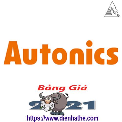 Bảng Giá Thiết Bị Tự Động Autonics 2021