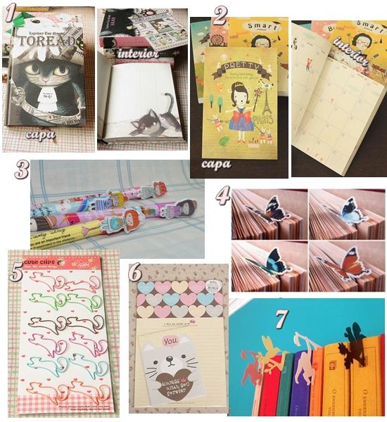 produtos da loja La Papeterie artigos de papelaria