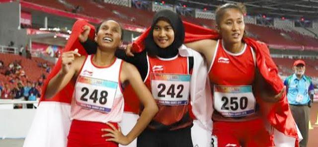 Fantastis, Indonesia Lampaui Target di Asian Para Games 2018