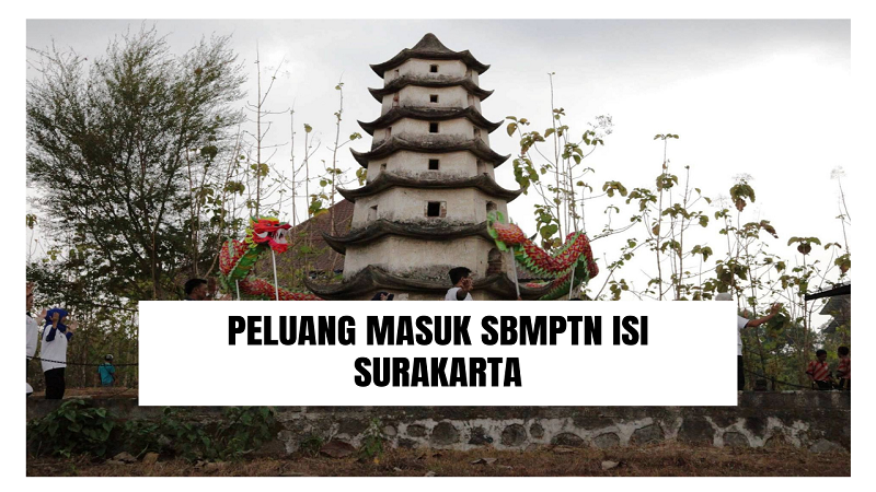 Peluang Masuk SBMPTN ISI Surakarta 2021/2022