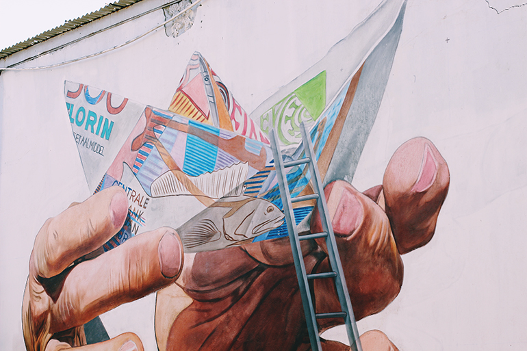 Aruba san Nicolaas Street Art