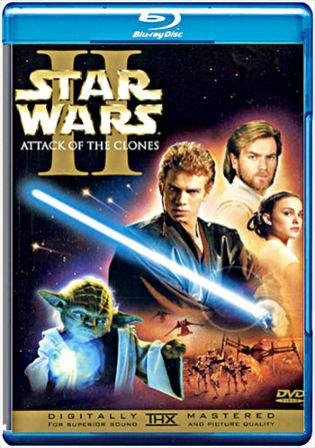 Star Wars Attack of the Clones 2002 BRRip Hindi 720p Dual Audio 1.2Gb Watch Online Full Movie Download bolly4u