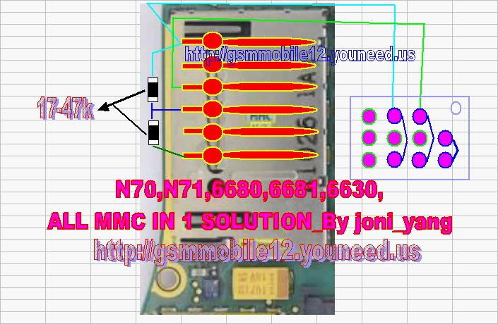 Nokia N70,N71 MMc ic Jumper - GSMHosters