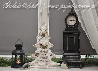 Shabby Chic Christmas Tree/ Choinka Shabby Chic
