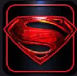 WhatsApp Logo Superman