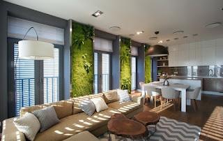 sala jardín vertical