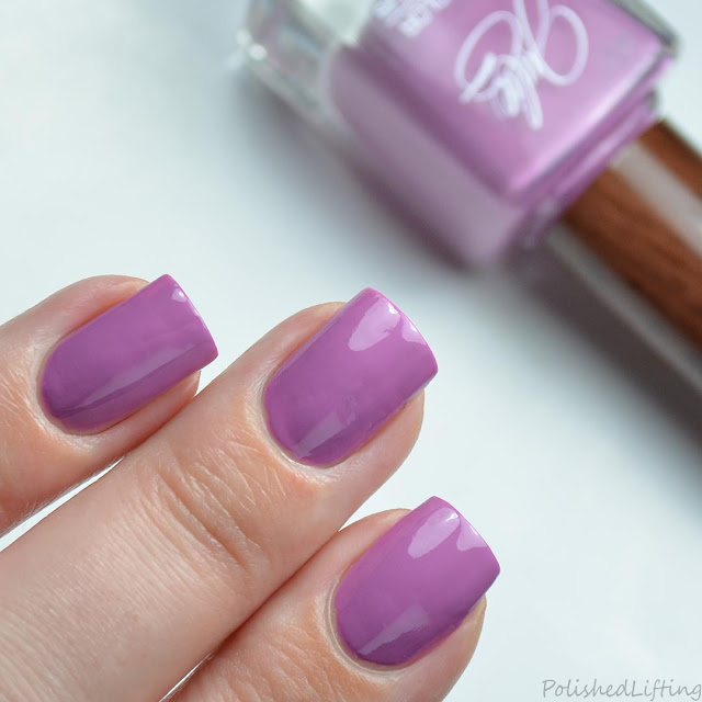 lilac purple nail polish