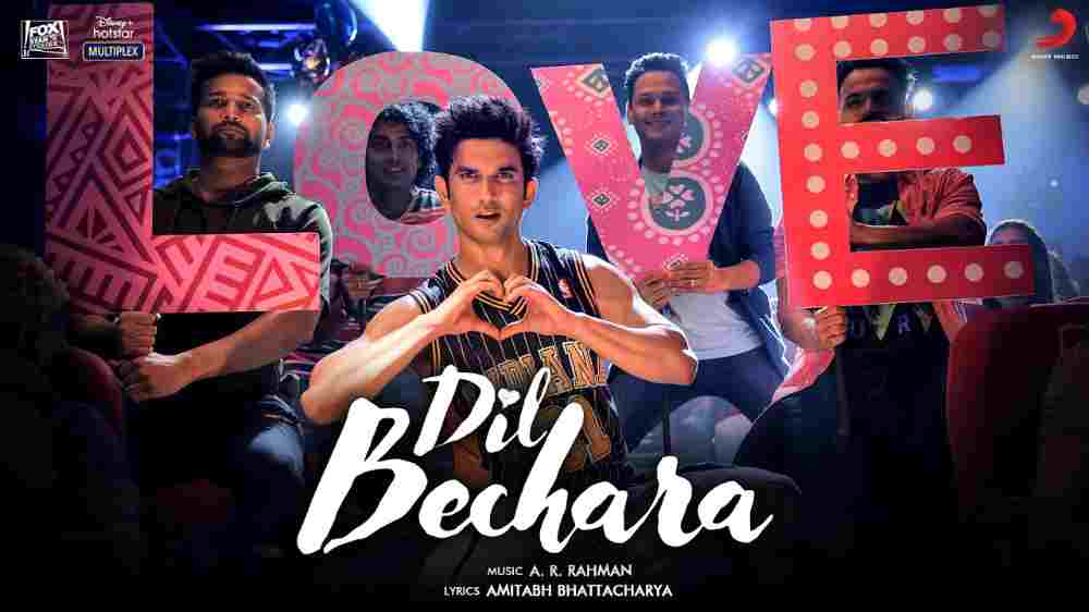 Dil Bechara Title Track Lyrics English Translation