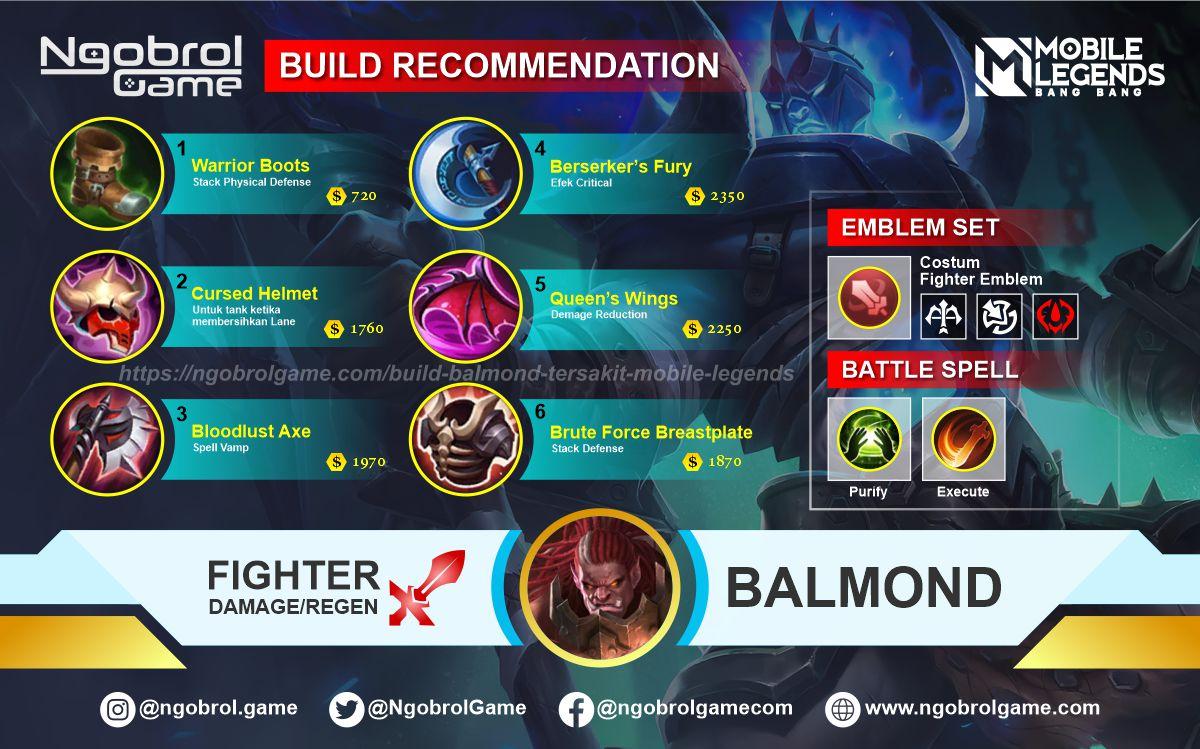 Build Balmond Savage Mobile Legends