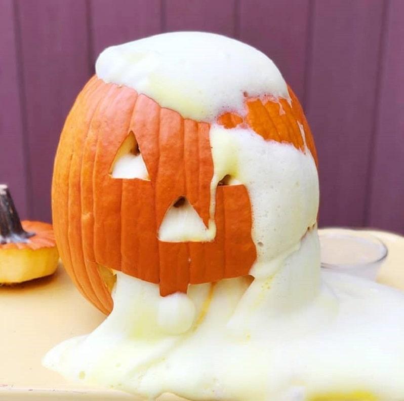 elephant toothpaste pumpkin