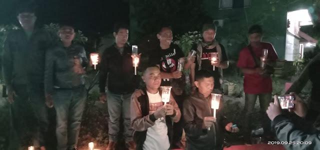 Kebebasan Pers Terancam, Jurnalis Jeneponto Aksi Bakar Lilin