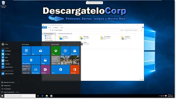 Descargar Windows 10 PRO Final Español