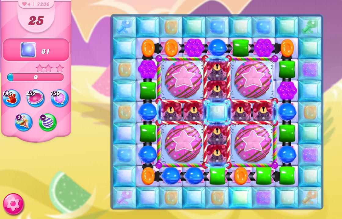 Candy Crush Saga level 7236