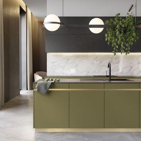 Green Kitchen Black Kitchen Cabinets Olive Green Kitchen Ideas Kitchens With Dark Green Cabinets