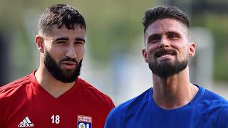 Nabil Fekir & Oliver Giroud