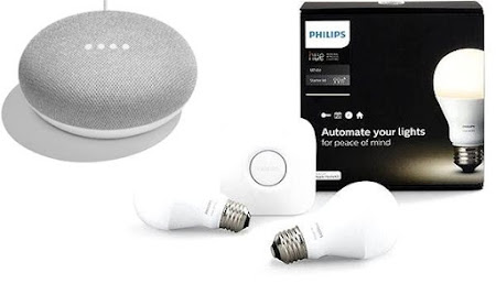 Google Home Mini + Kit Philips HUE