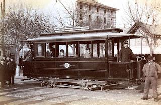 tram elettrico edison milano sempione duomo