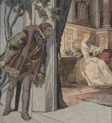 illustration de Nemours et la princesse de Clèves par Serge de Solomko
