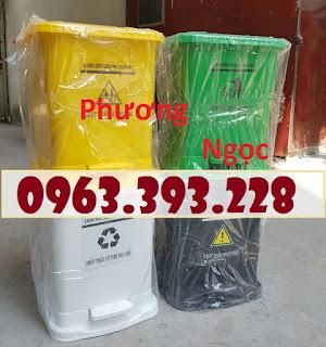 Thùng rác y tế, thùng đựng rác y tế đạp chân, thùng rác đạp chân B22a39db34b5d2eb8ba4