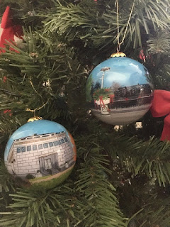 Franklin Museum holiday Ornaments for sale - Columbus Day weekend