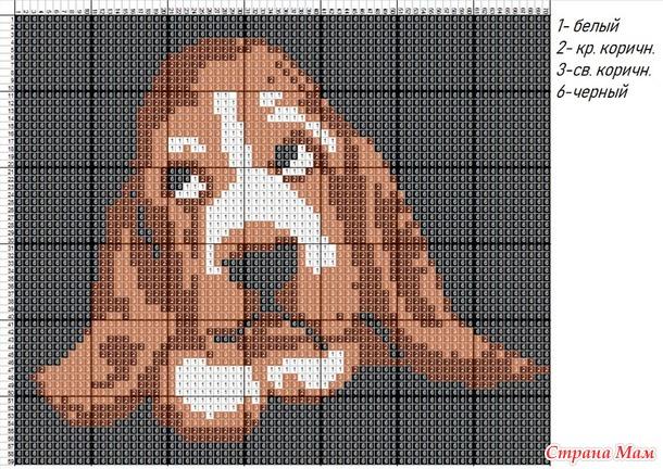 patron-perro-cuadriculado