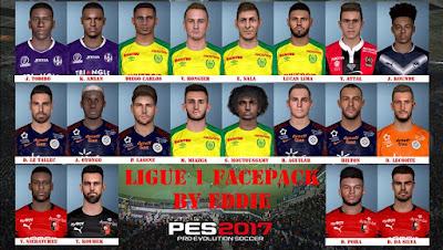 PES 2017 Facepack Ligue 1 by Eddie Facemaker