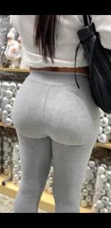 Morena bonita pantalones yoga cola redonda