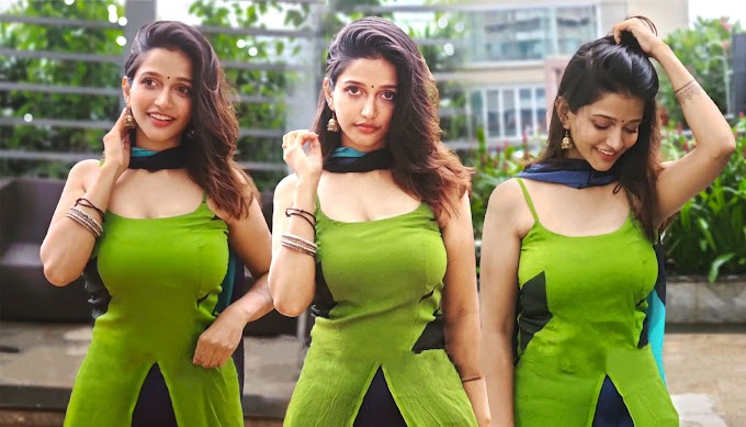 Anaika Soti Hot HD Photos In Green Kurti Pics 💖