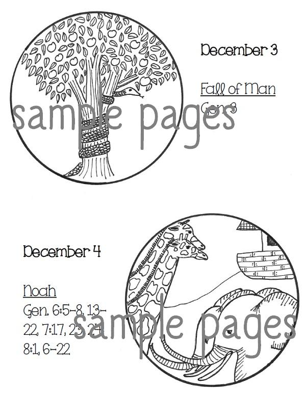 Paper Dali: Brand-New Jesse Tree Ornaments for Advent 2014