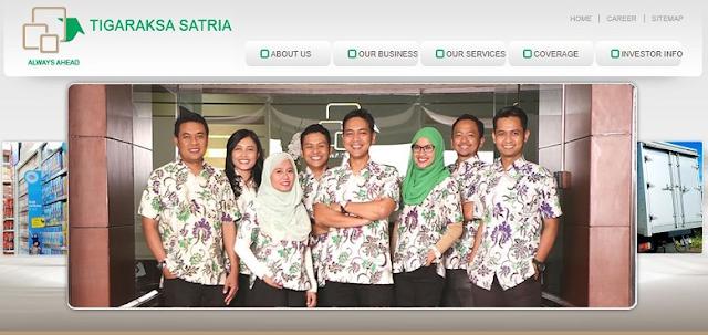 Lowongan Kerja SMA SMK D3 S1 PT. Tigaraksa Satria Tbk, Jobs: Sales Representative, Admin Gudang, Warehouse Assistant, TSP, Pharma Sales Representative, Regional Distribution Center, Etc.