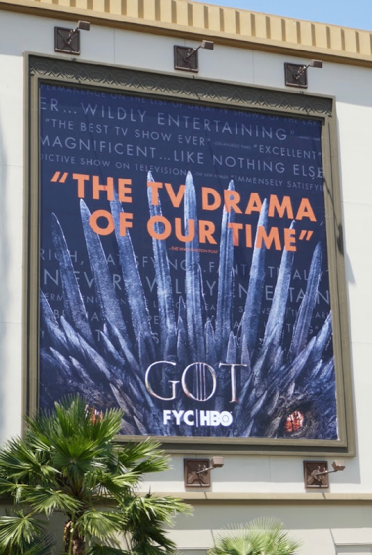 Game of Thrones 2019 Emmy billboard