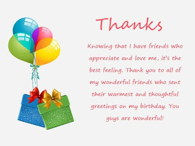 Thank You for the Birthday Wishes Images for Your Congratulations