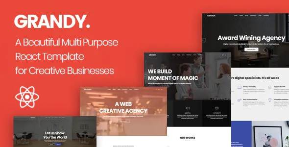 Best Creative Multipurpose React Template