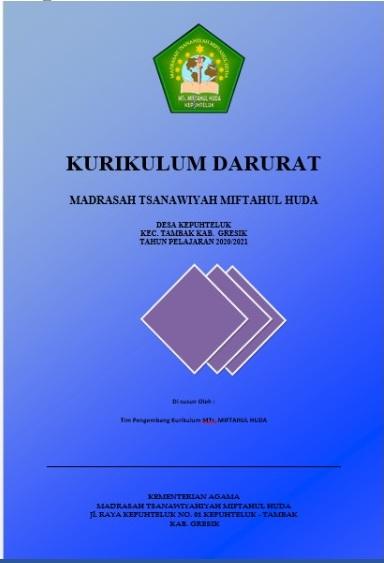 Contoh Kurikulum Darurat Tahun Pelajaran 2020 2021 Admin Bawean