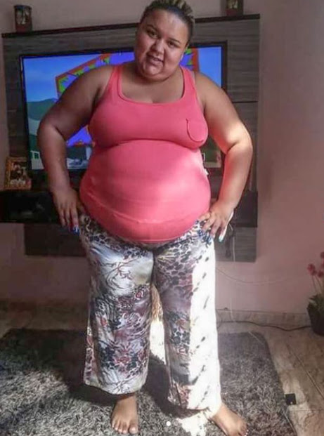 Formerly obese woman is looks unrecognizable in new photos after losing 11 stone to become a model