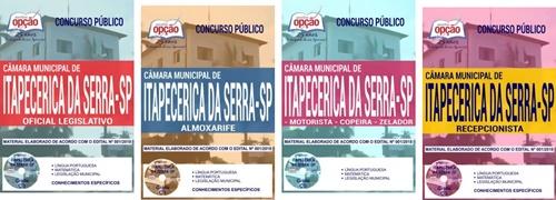 Apostila Câmara de Itapecerica da Serra 2018