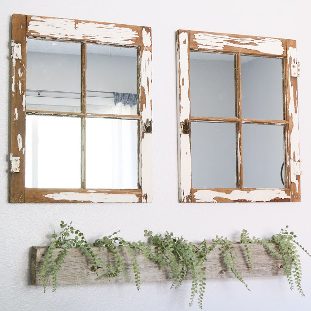 Rock star pick how to turn a vintage window into a mirror