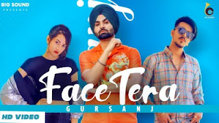 Face Tera Lyrics Gursanj ft Mr and Mrs Narula