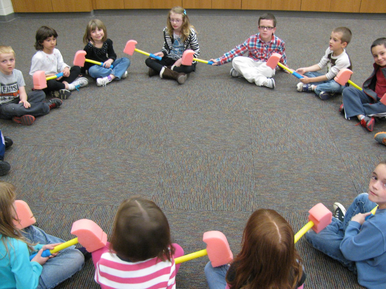 Kodaly Inspired Classroom Preparing Steady Beat Johnny Works With One Hammer