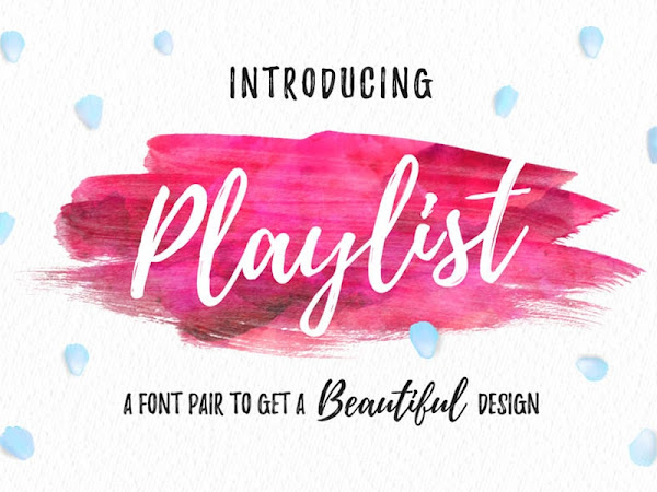 Playlist Dry Brush Font Free Download