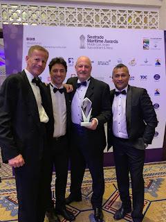 Kanoo Shipping wins Ship Agent Award 2019 at the Seatrade Maritime Awards held in Dubai, UAE