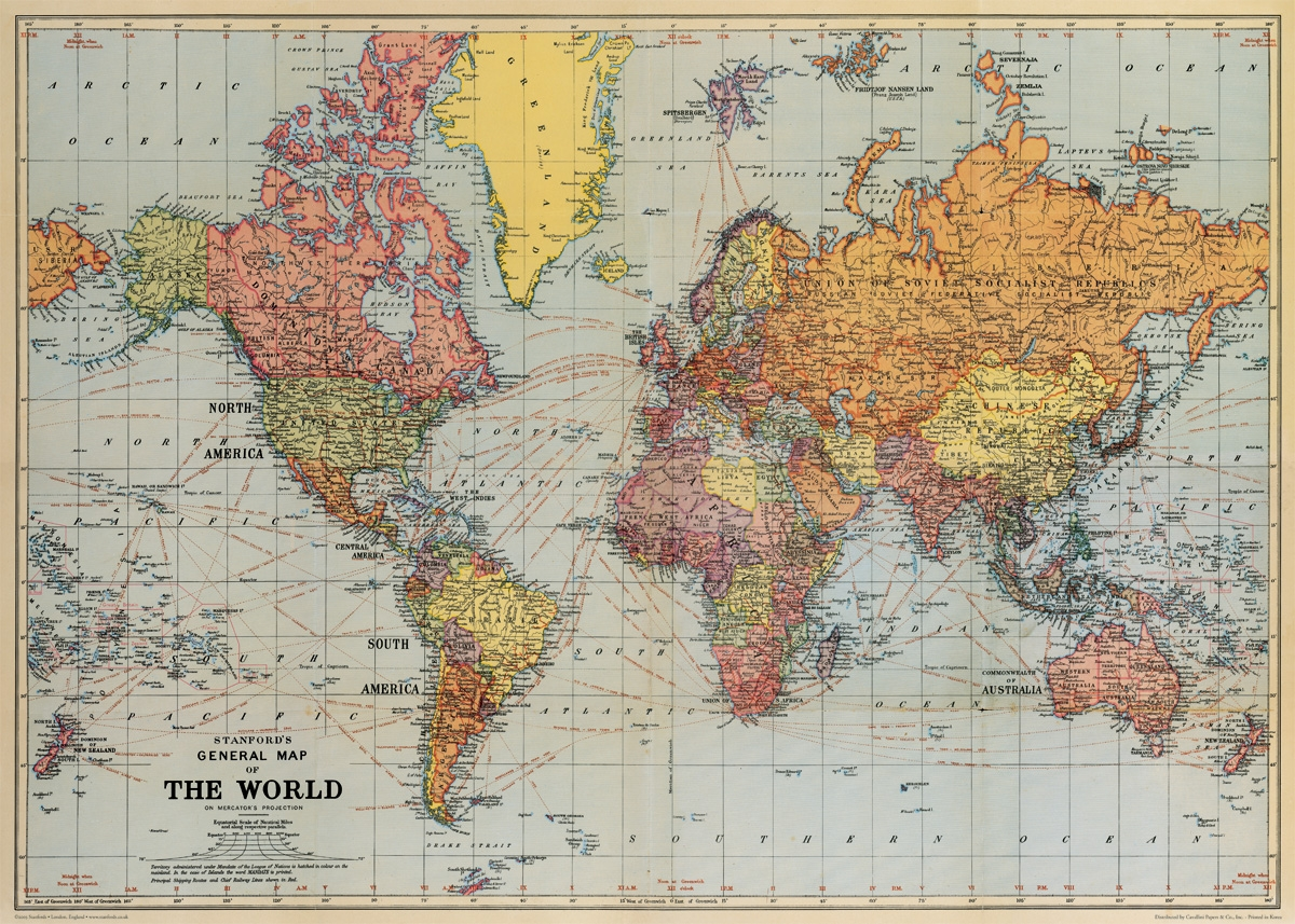 Map World Mouments%0A World Map Wrap