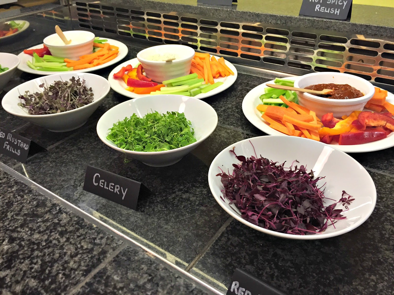 Salad Bar at Super Natural Newcastle