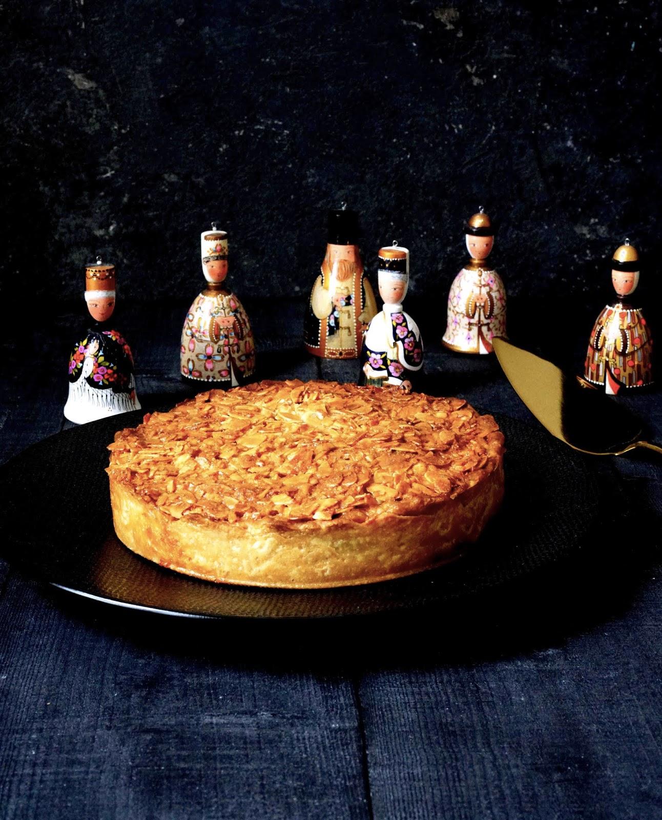 pâte à l'amande , pâte feulletée facile à l'épeautre