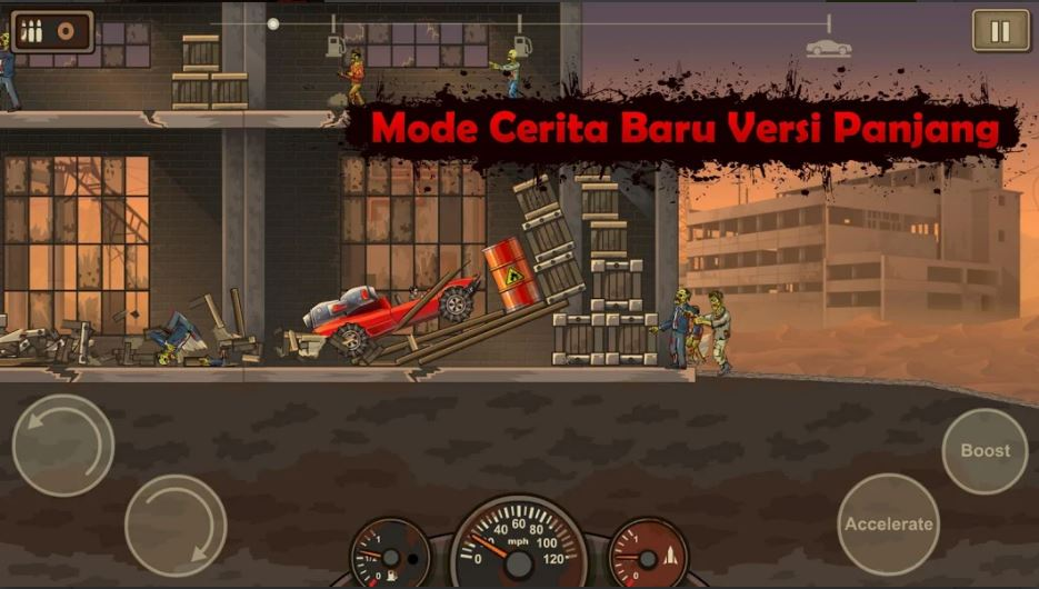 download Earn to Die 2 MOD APK 1.4.18 (MOD MONEY, Free Shopping) Terbaru 2020 2