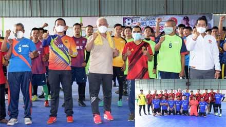 Pertandingan Futsal antar DPC PKS se Kota Pariaman
