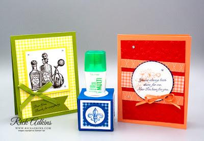 Fanciful Fragrance Stamp set, 2018 - 2020 In Color Designer Series Paper, Rick Adkins, Stampin' Up!