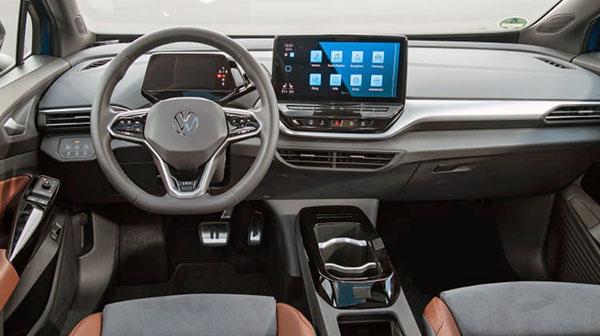 Burlappcar: VW ID.4: more interior photos