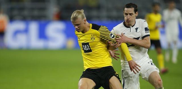 ملخص واهداف مباراة بروسيا دورتموند وهوفنهايم (3-2) الدوري الألماني